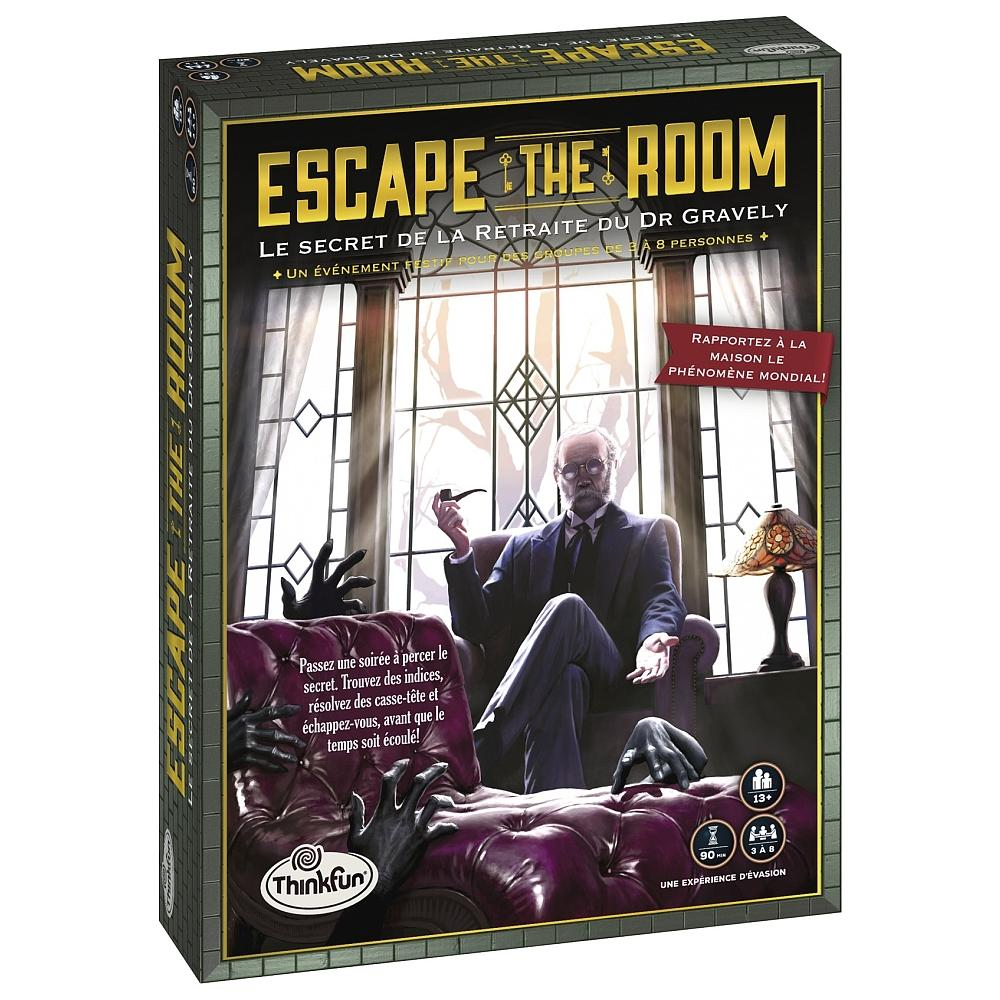 Escape The Room - Le secret de la retraite du Dr. Gravely | 29,99$ | Location seulement
