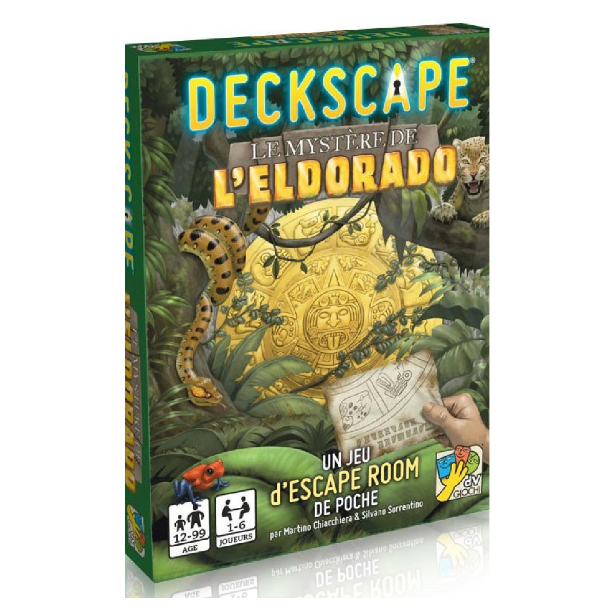 Deckscape - Le Mystère de l'Eldorado | 16,99$ | Location seulement