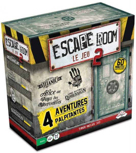 Escape Room 2 - coffret de base | 59,99$ | Temporairement discontinué
