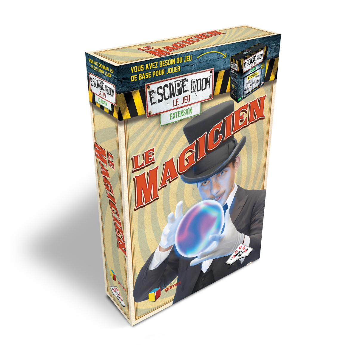 Escape Room Extension - Le Magicien | 21,99$