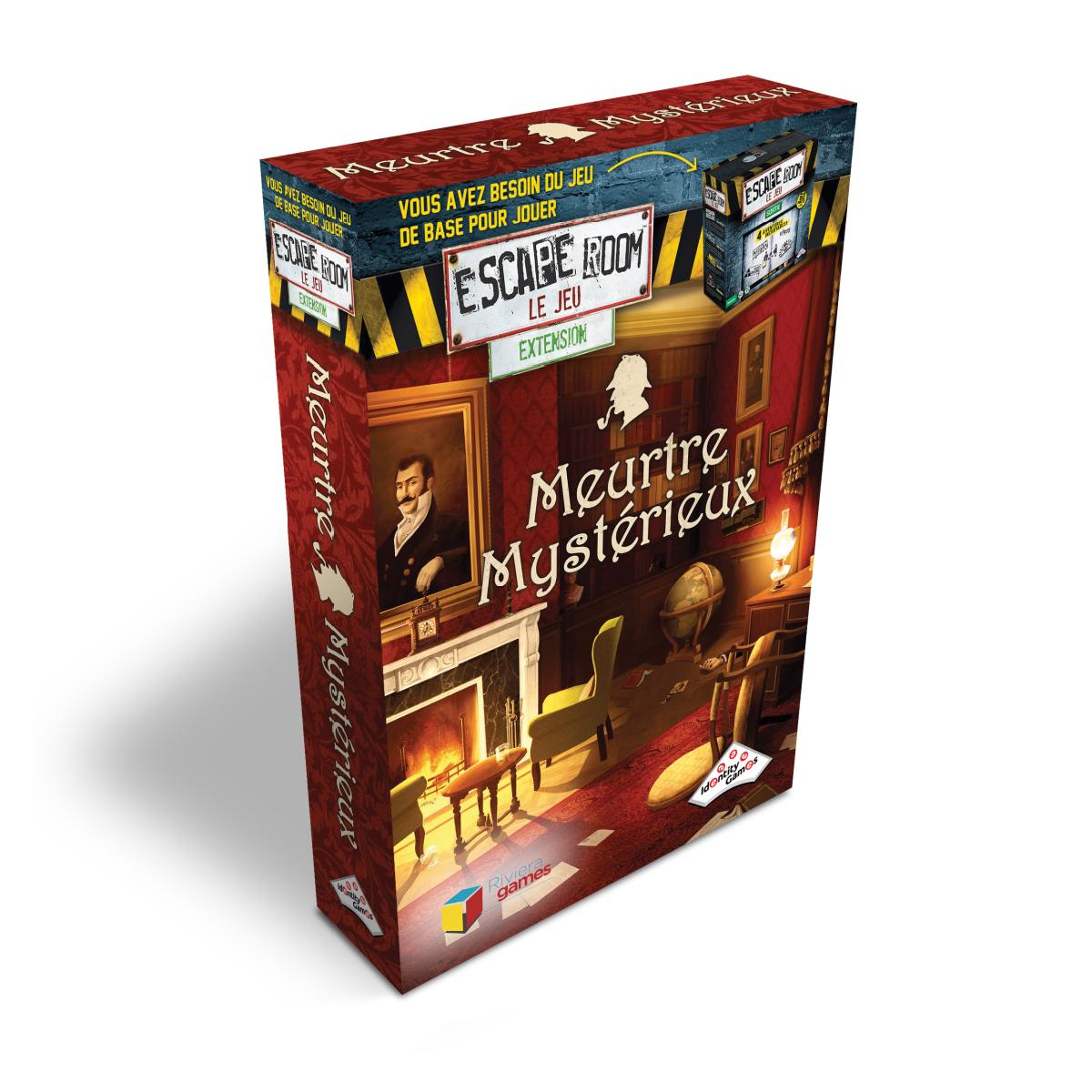 Escape Room Extension - Meurtre Mystérieux | 21,99$
