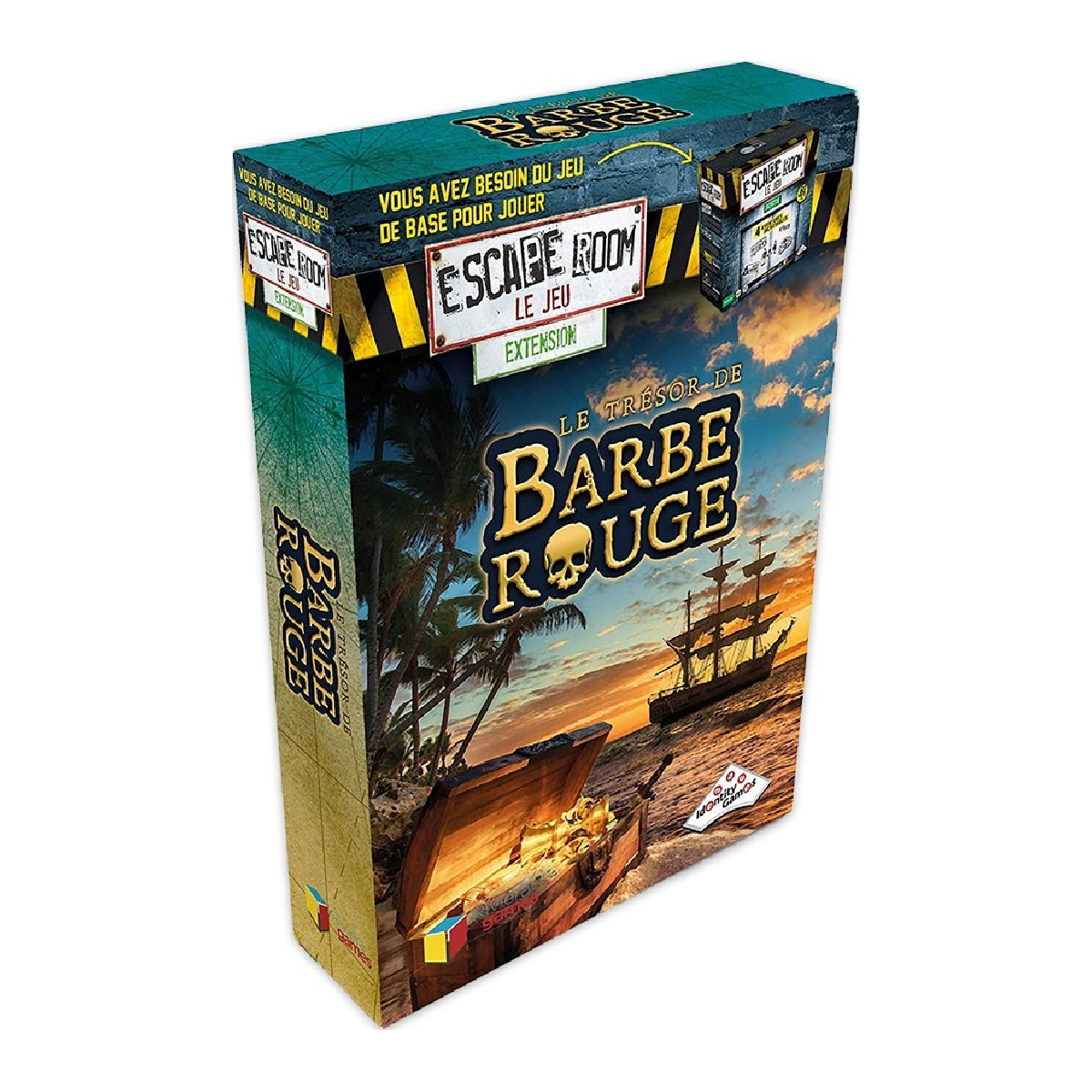 Escape Room Extension - Le trésor de Barbe Rouge | 21,99$