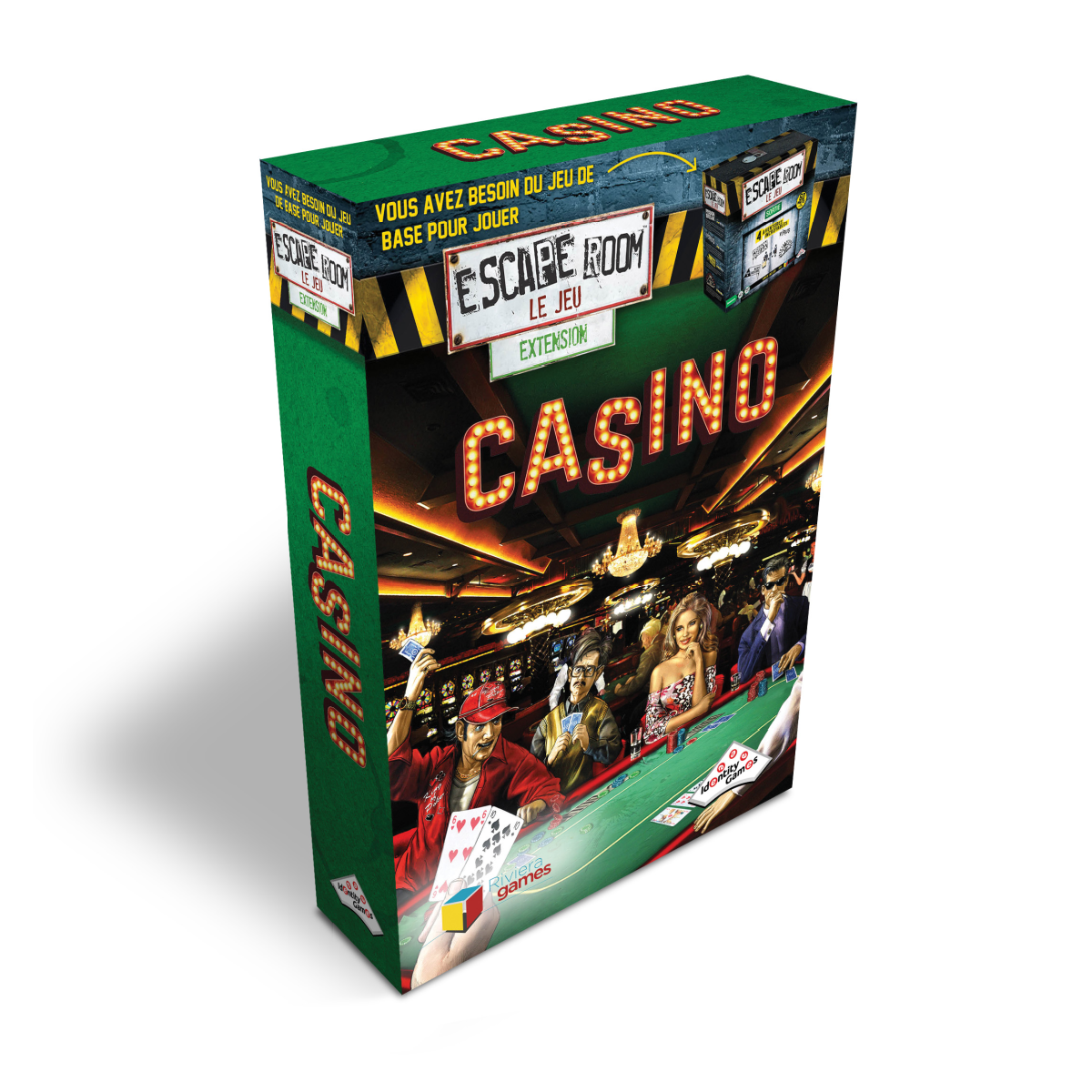 Escape Room Extension - Casino | 21,99$