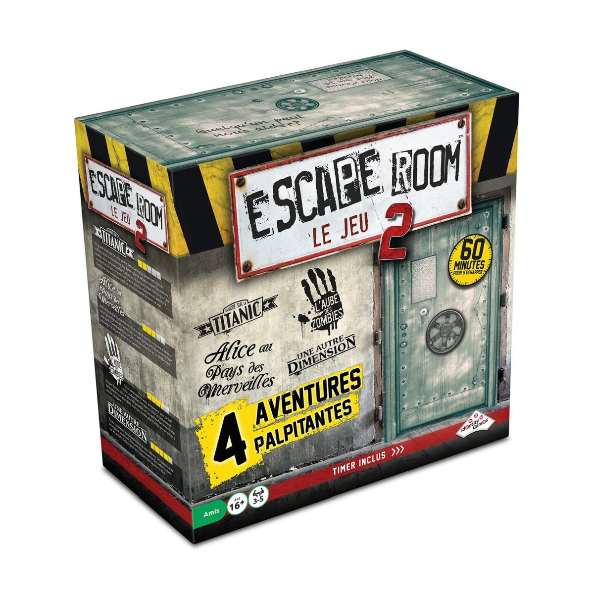 Escape Room 2 - coffret de base | 59,99$ | Temporairement discontinué