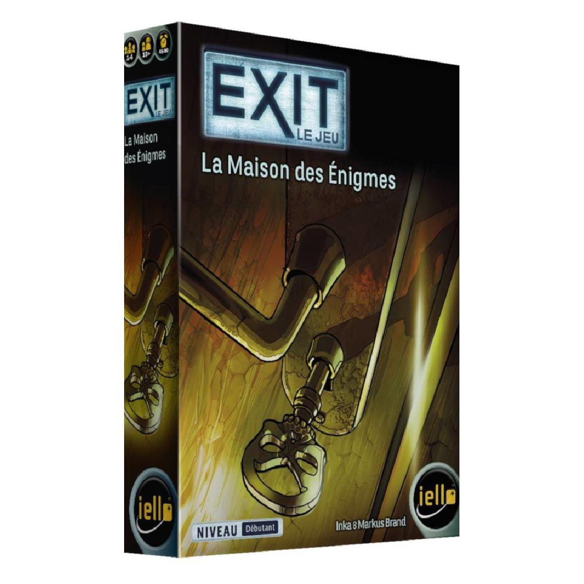 Exit - La maison des Énigmes | 19,99$ | Achat seulement