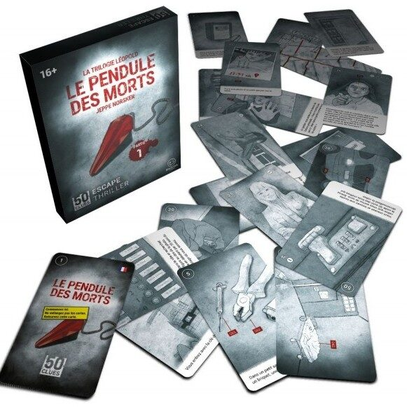 50 Clues - Pendule des morts | 19,99$