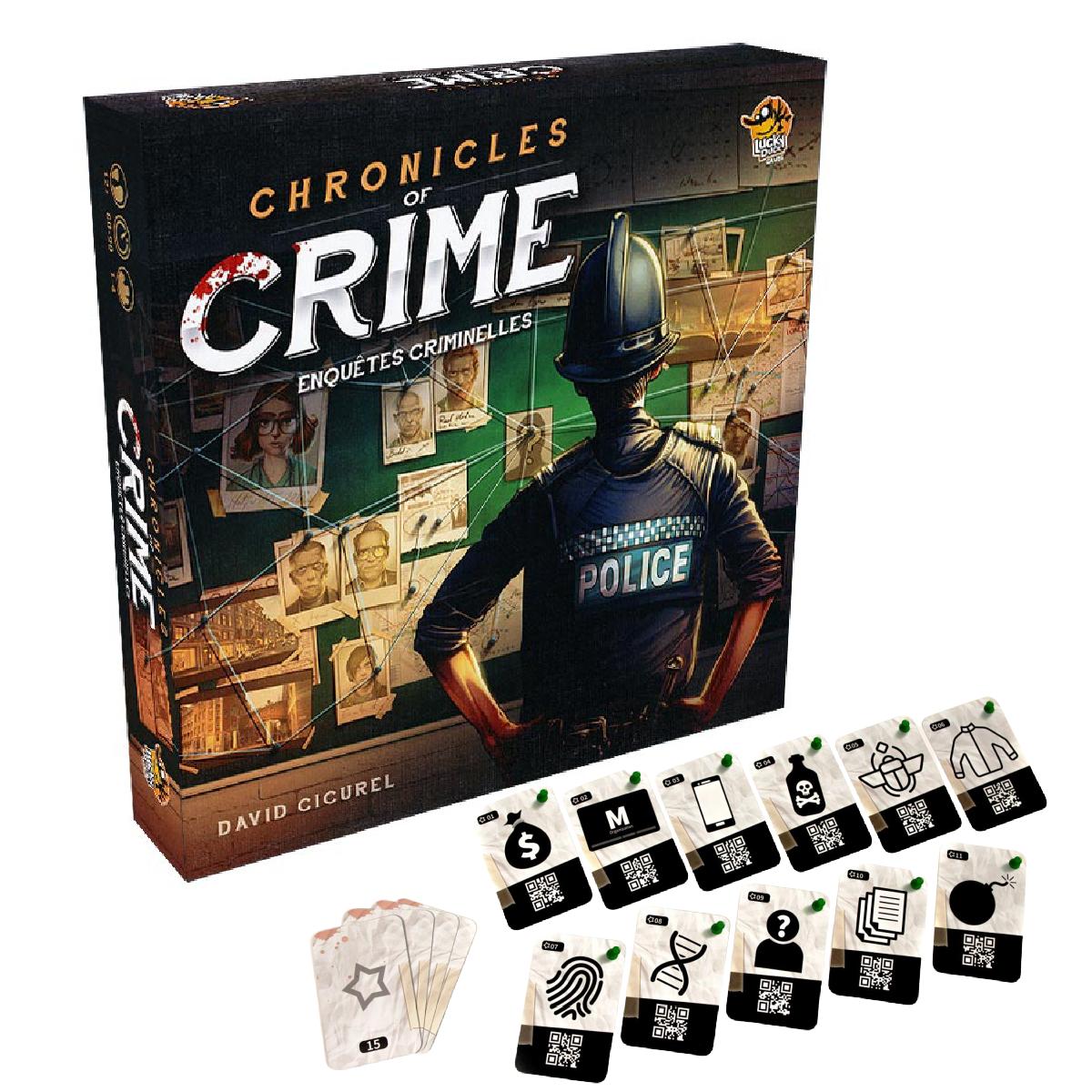 Chronicles of Crime - Enquêtes criminelles   49,99$