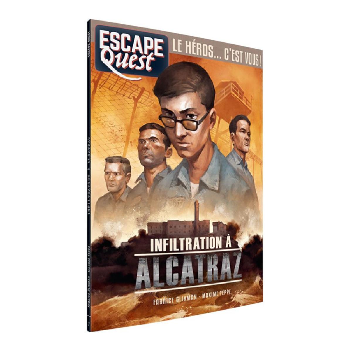 Livre Escape Quest - Infiltration à Alcatraz   17,99$
