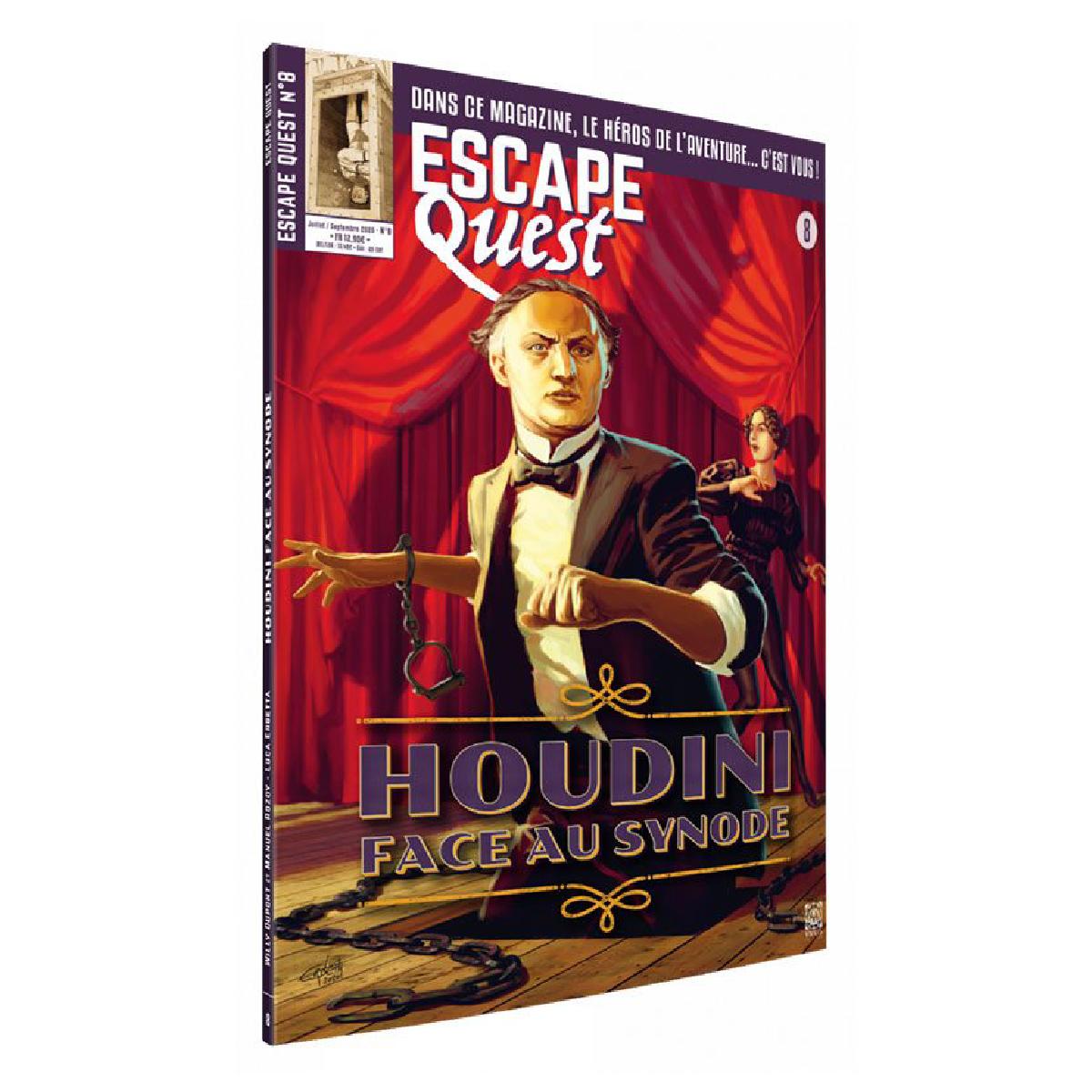 Livre Escape Quest - Houdini face au synode   17,99$
