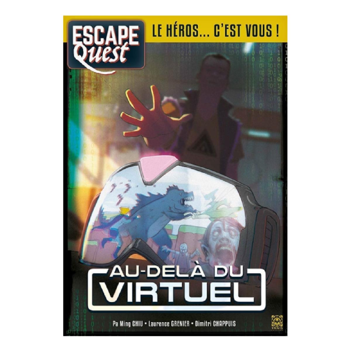 Livre Escape Quest - Au-delà du virtuel   17,99$