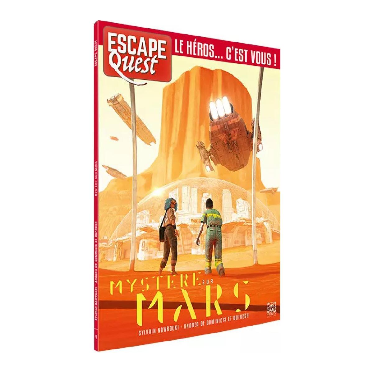 Livre Escape Quest - Mystère sur Mars   17,99$