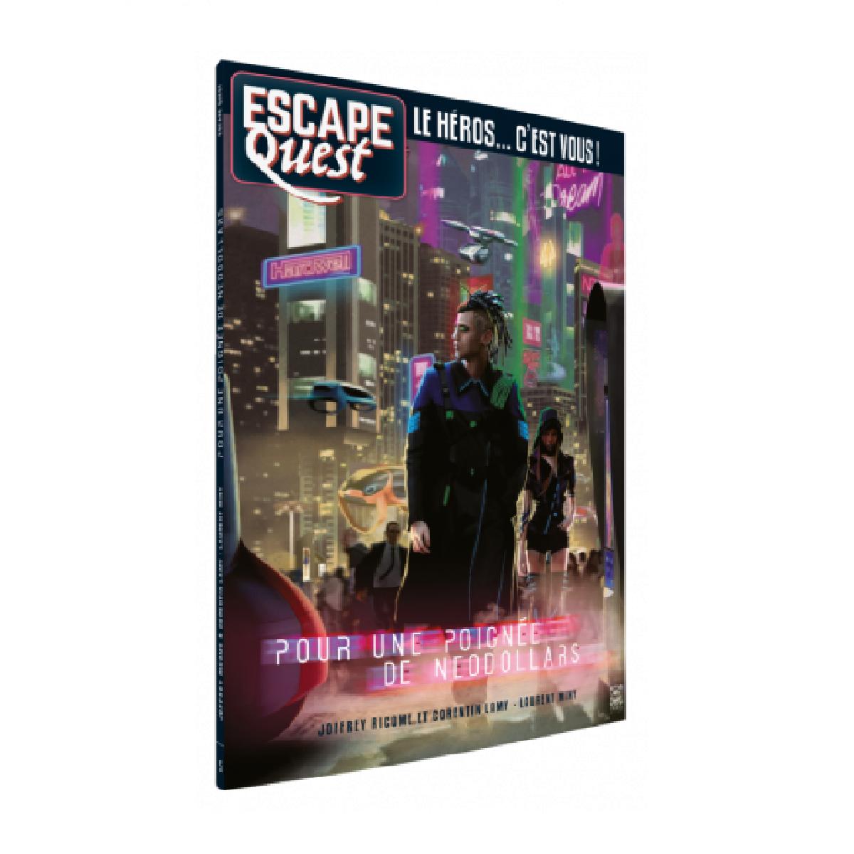 Livre Escape Quest - Pour une poignée de Néodollars   17,99$